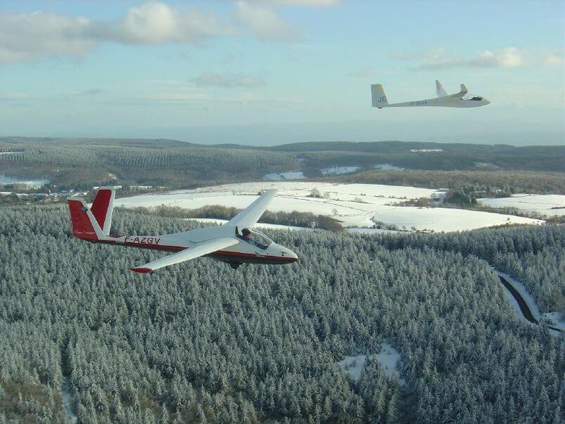 ffvp planeur Centre de Vol à Voile de la Montagne Noire – VVMN 1