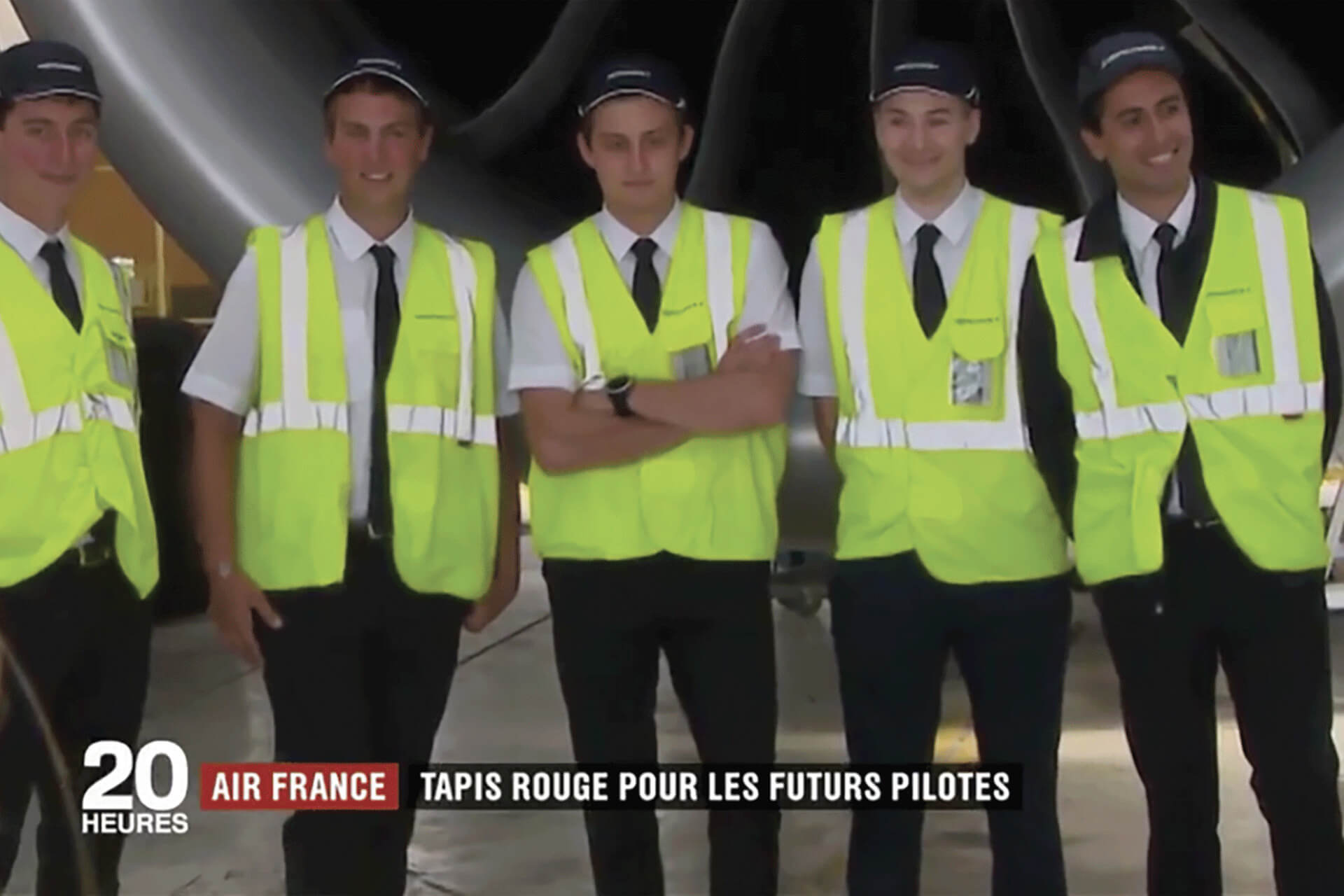 france 2  air france mettent en lumi u00e8re le planeur