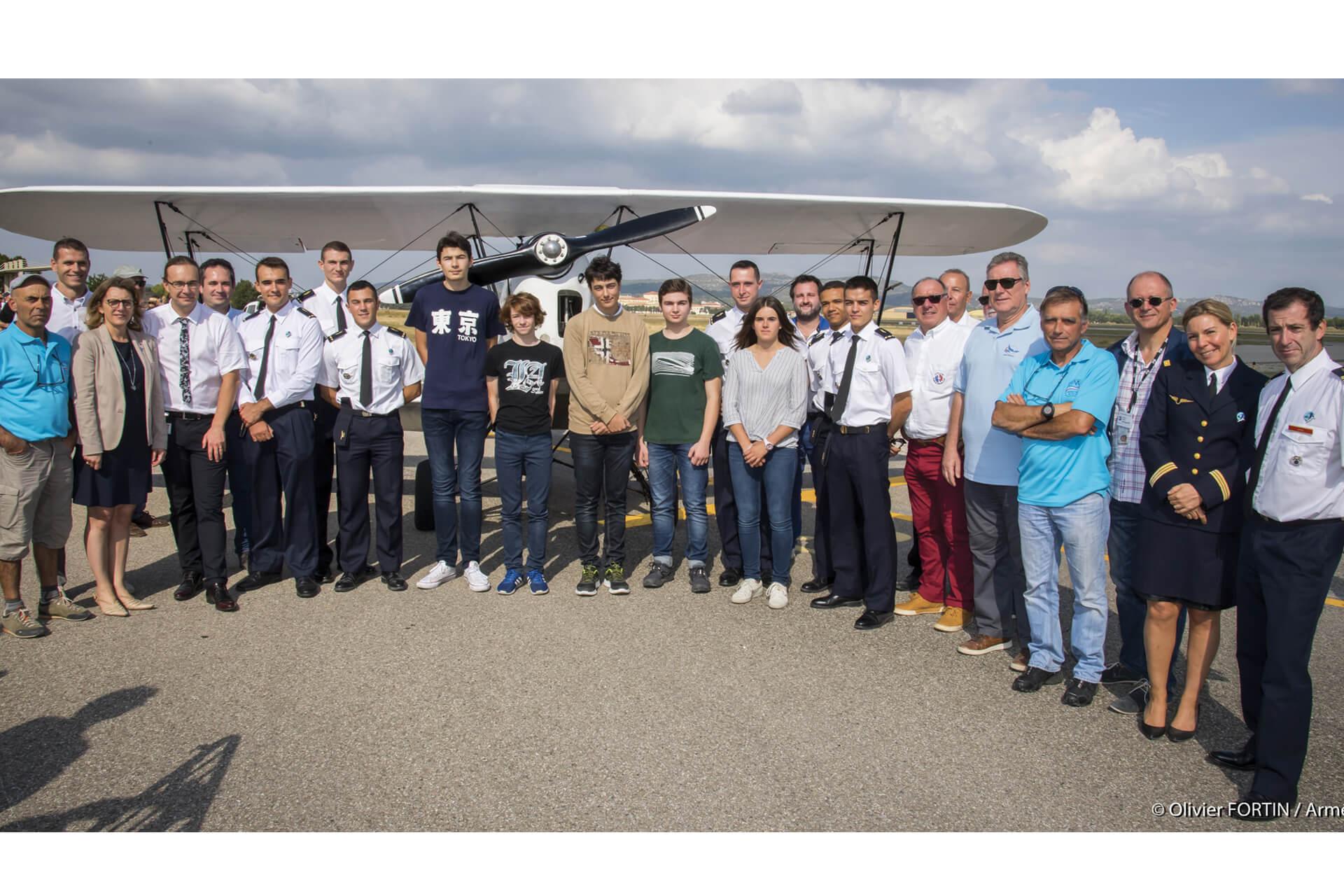 Les 50 ans du BIA et de l'école de voltige de l'Armée de l'Air !