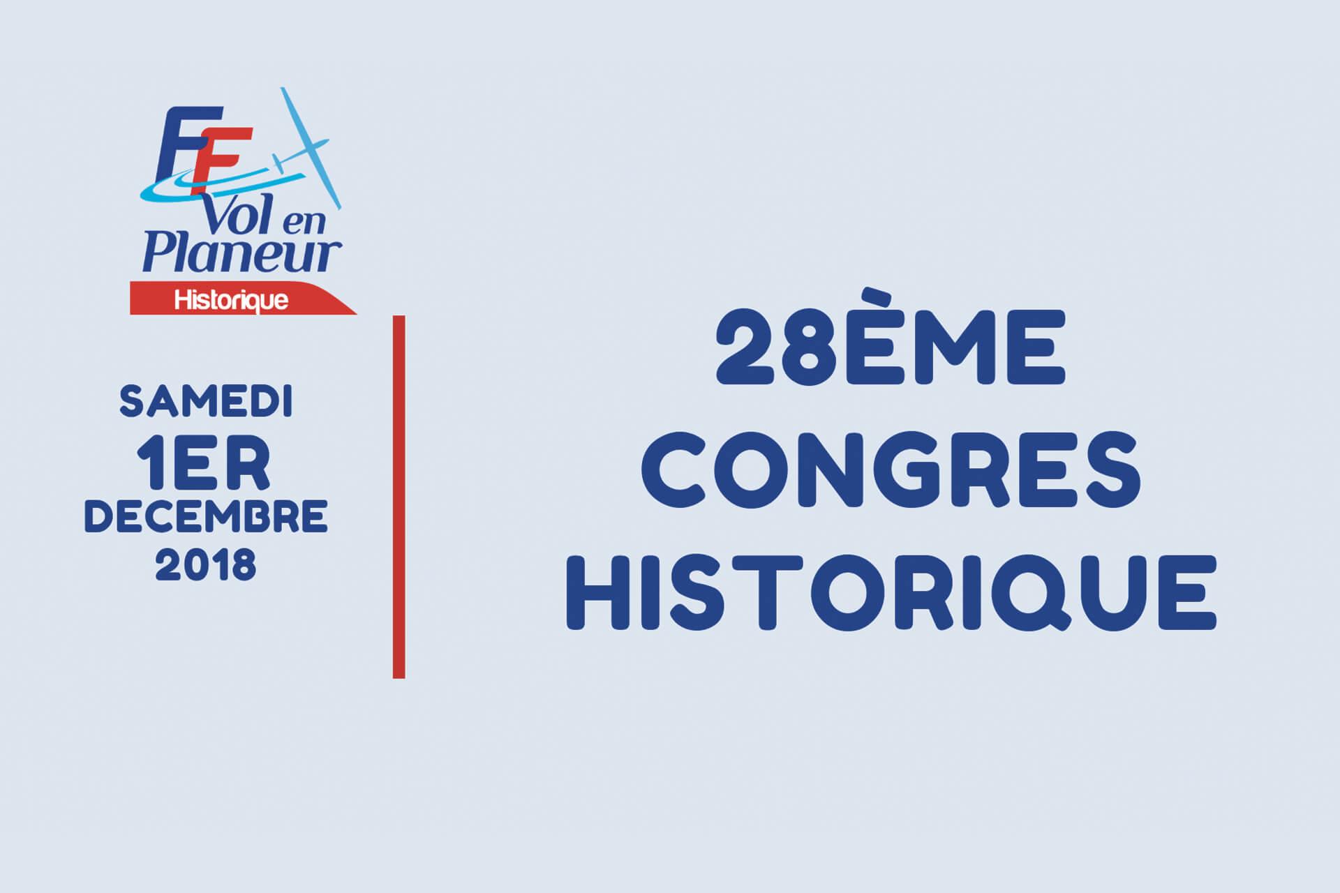 28e Congrès Historique