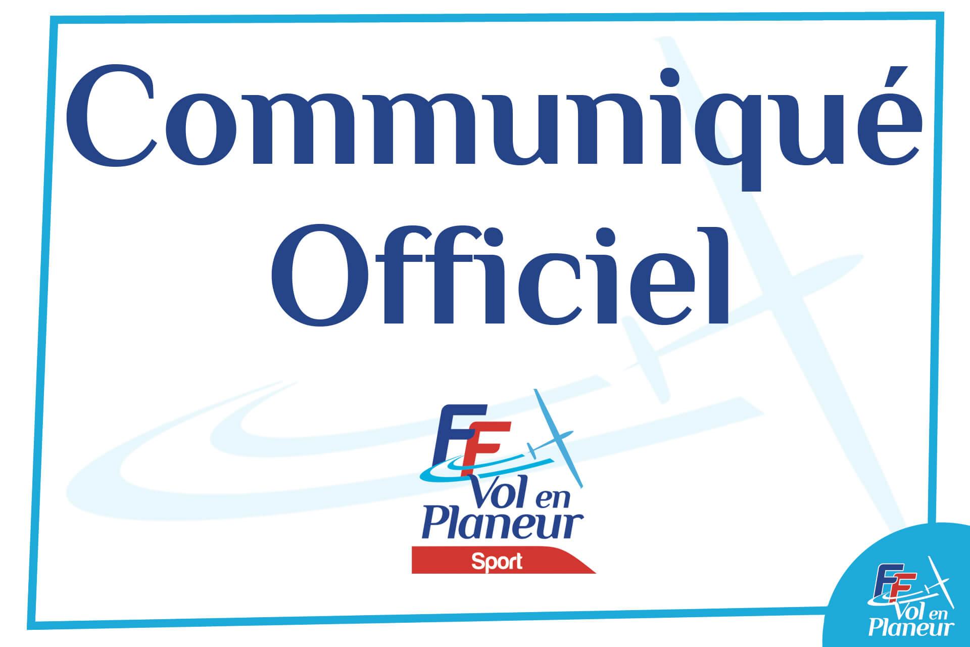 Pré-inscription aux championnats de France