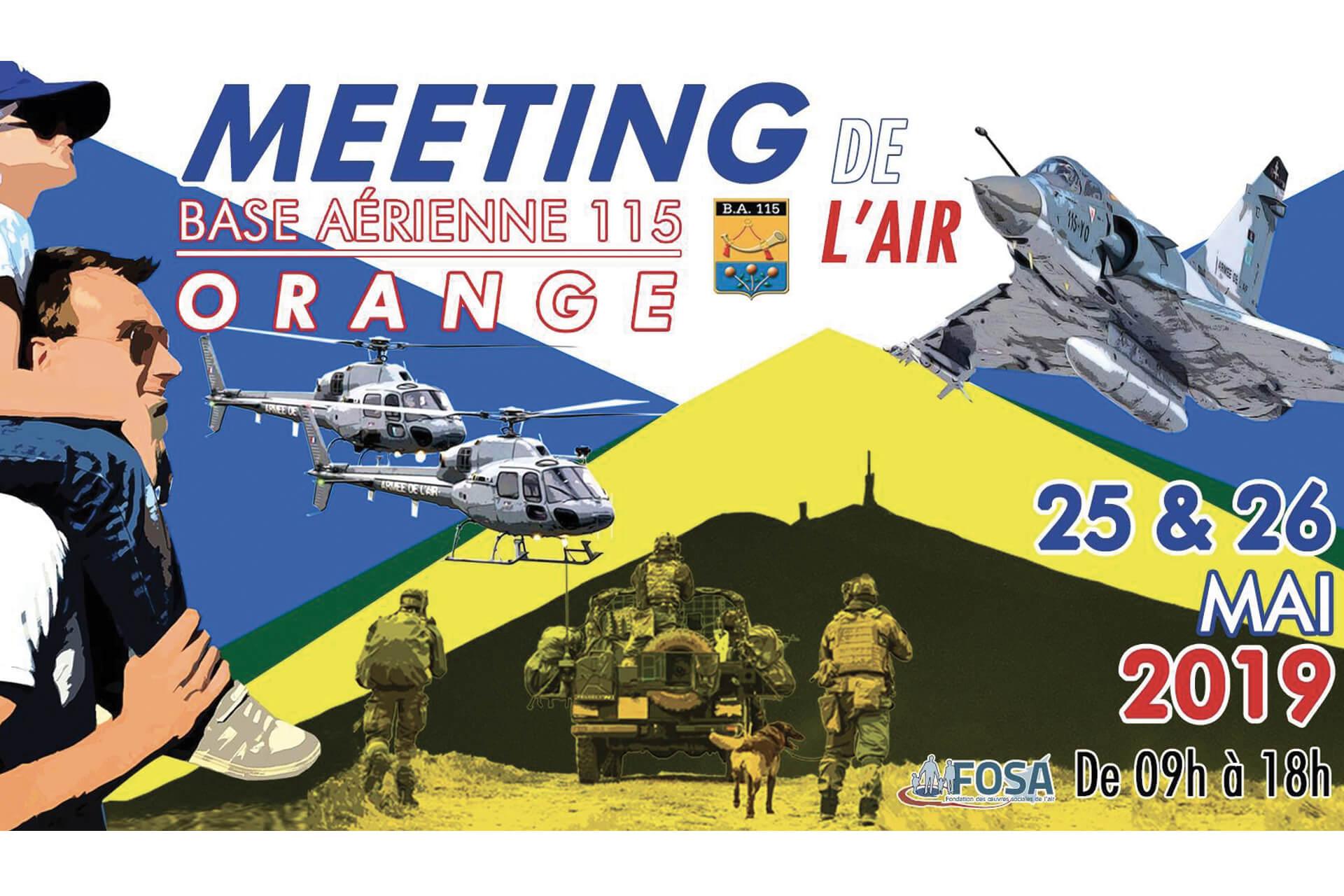 Meeting de l'Air – Orange