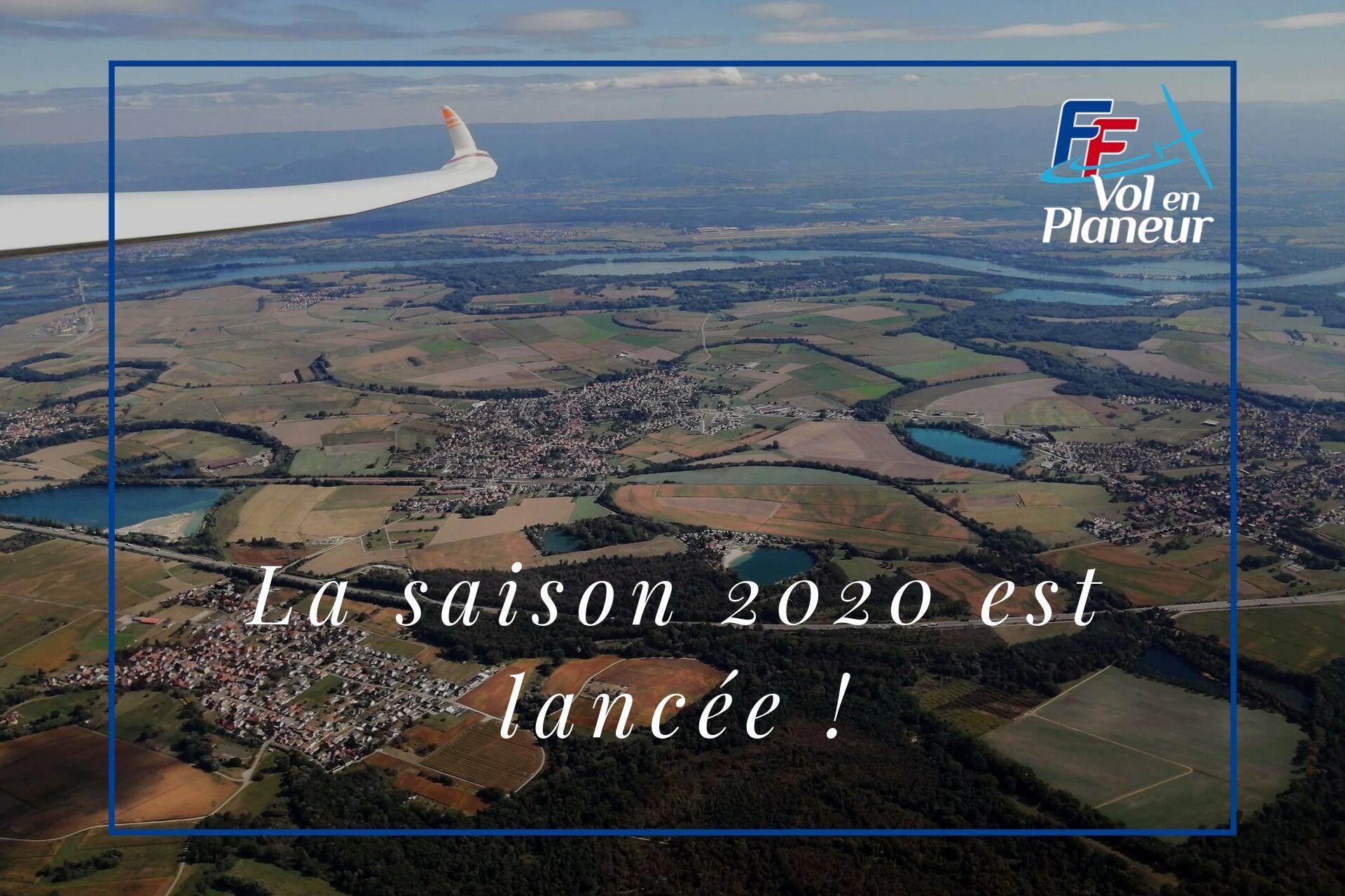 Top départ pour la saison 2020 !