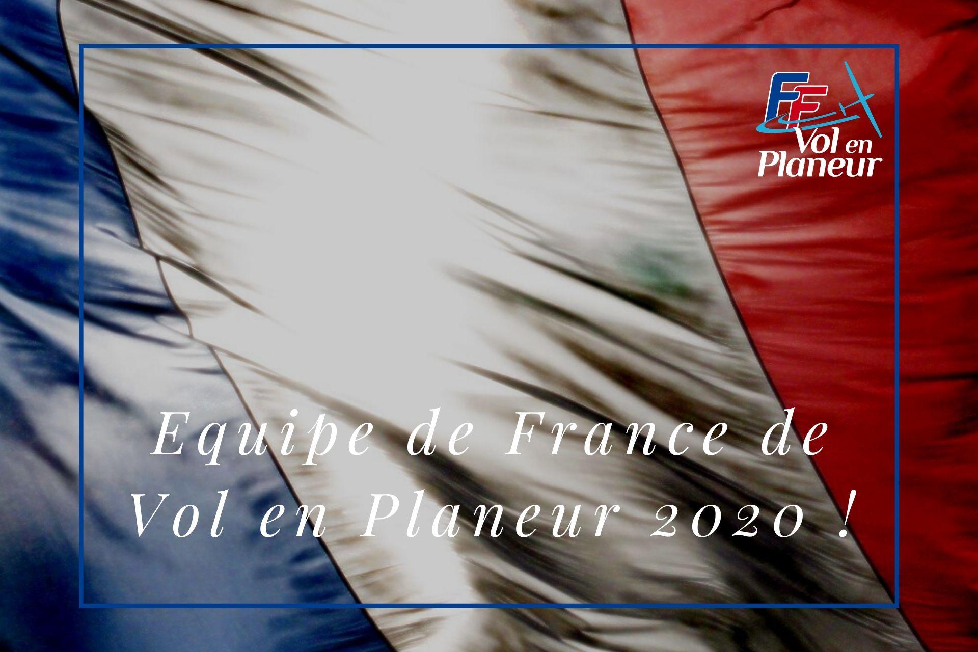 Comité de sélection – Equipe de France de vol en planeur senior 2020