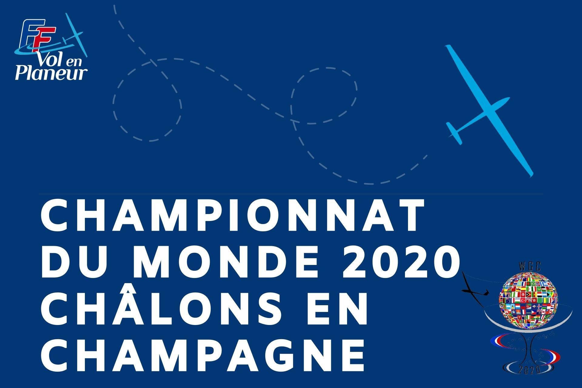 Championnat du Monde 2020 à Châlons en Champagne