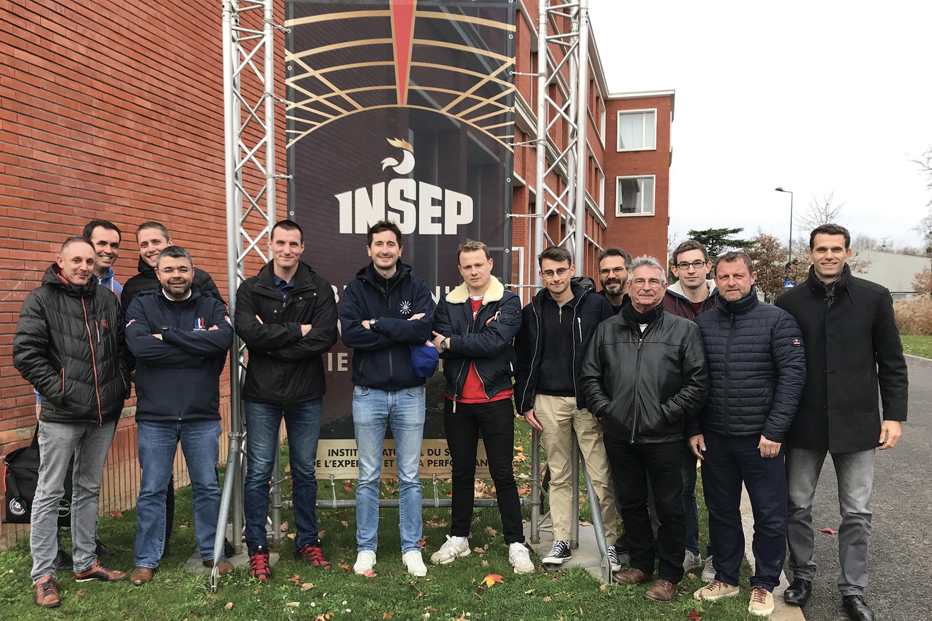 L'équipe de France de Voltige Planeur en stage à l'INSEP