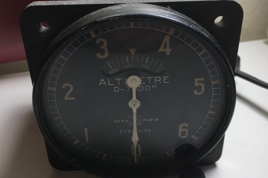 ffvp planeur ALTIMETRE AERA PARIS TYPE M70