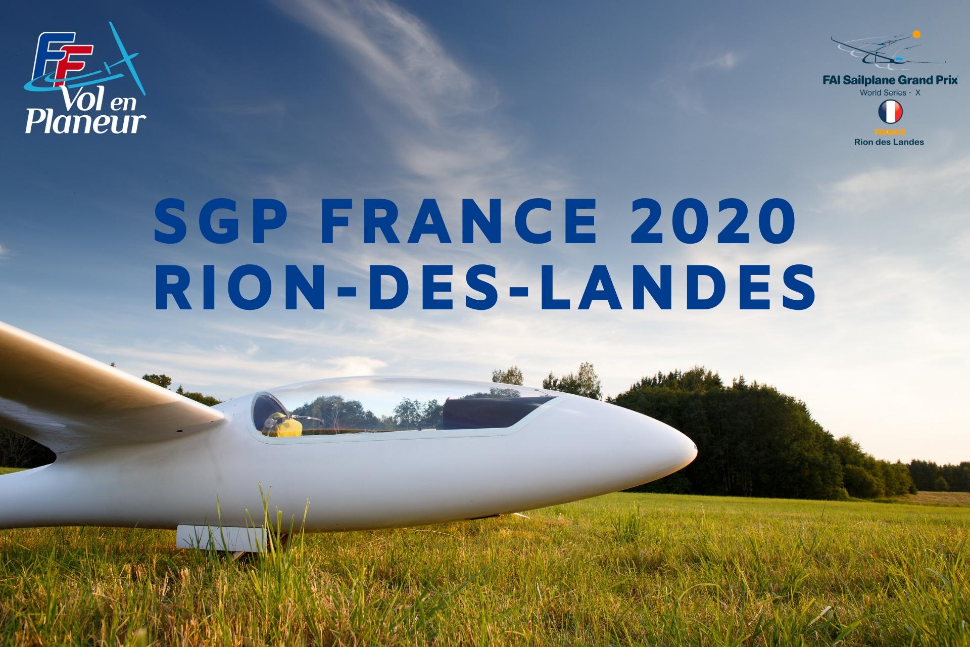SGP France 2020 – Rion-des-Landes