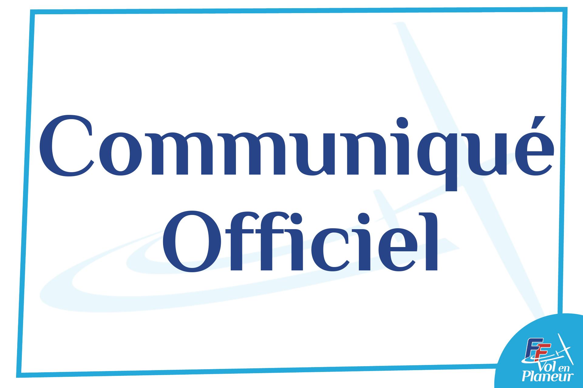 Communiqué : recours contre l'arrêté de fermeture  de l'aérodrome de Sallanches