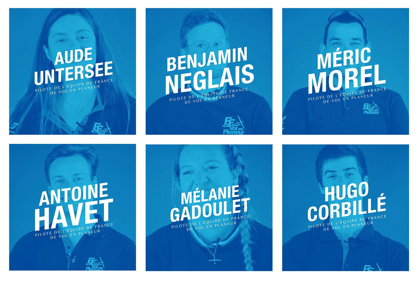 Du cotés des bleus – Interviews des pilotes de l'Equipe de France de vol en planeur