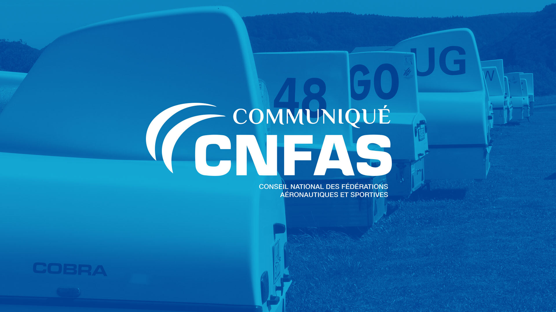Communiqué CNFAS : Reconfinement et activité aéronautique