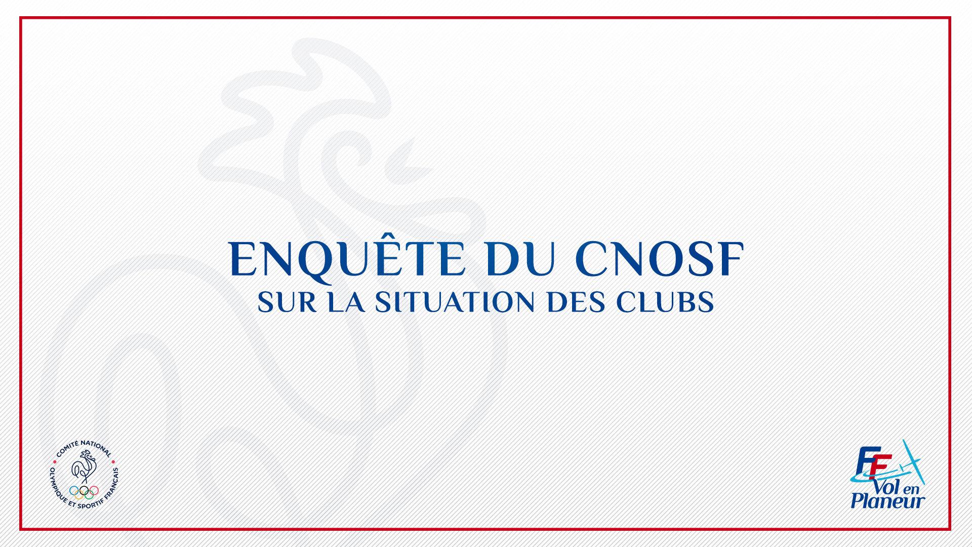 Enquête CNOSF sur la situation des clubs