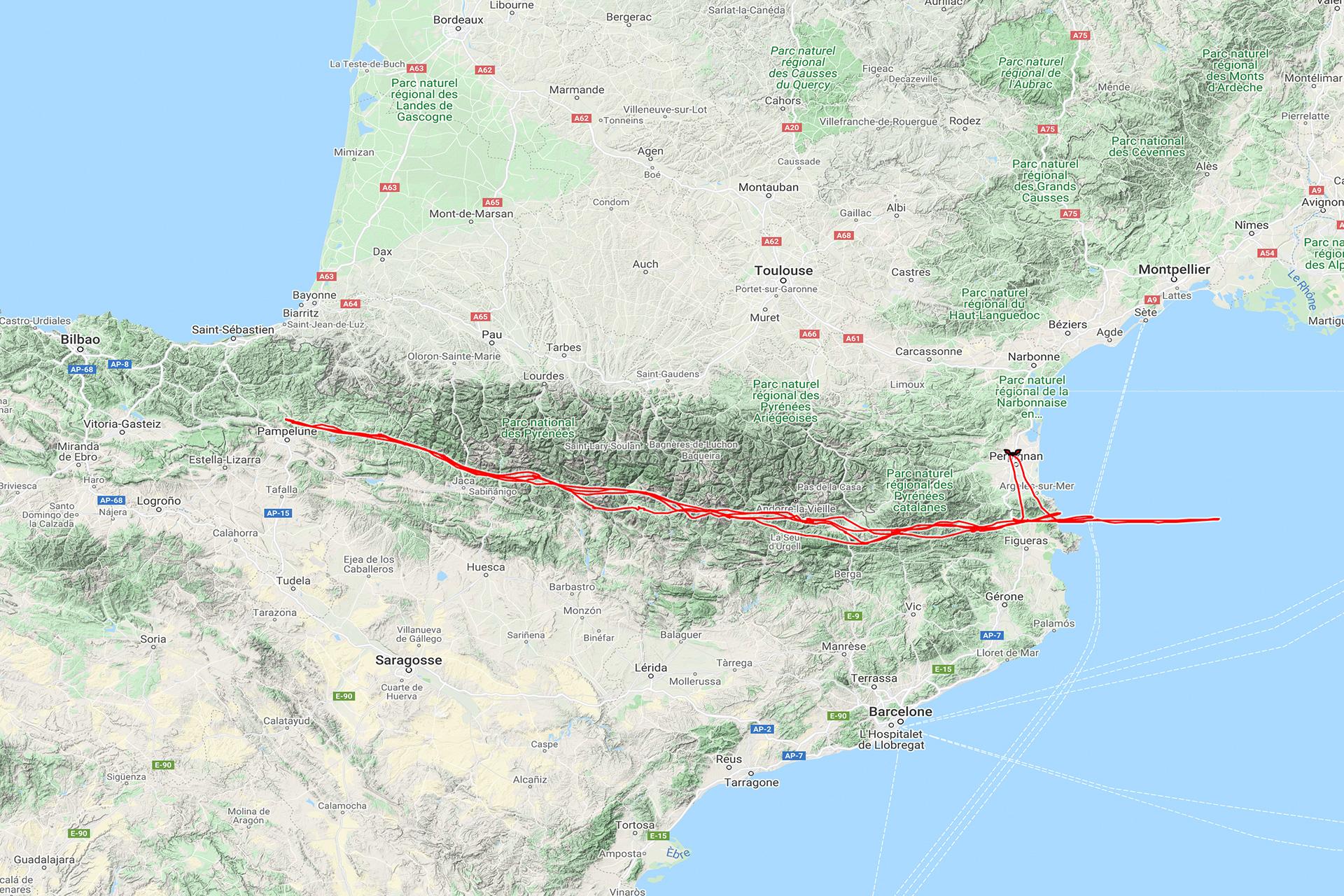 Nouveau record d'Europe : 1700km en planeur !