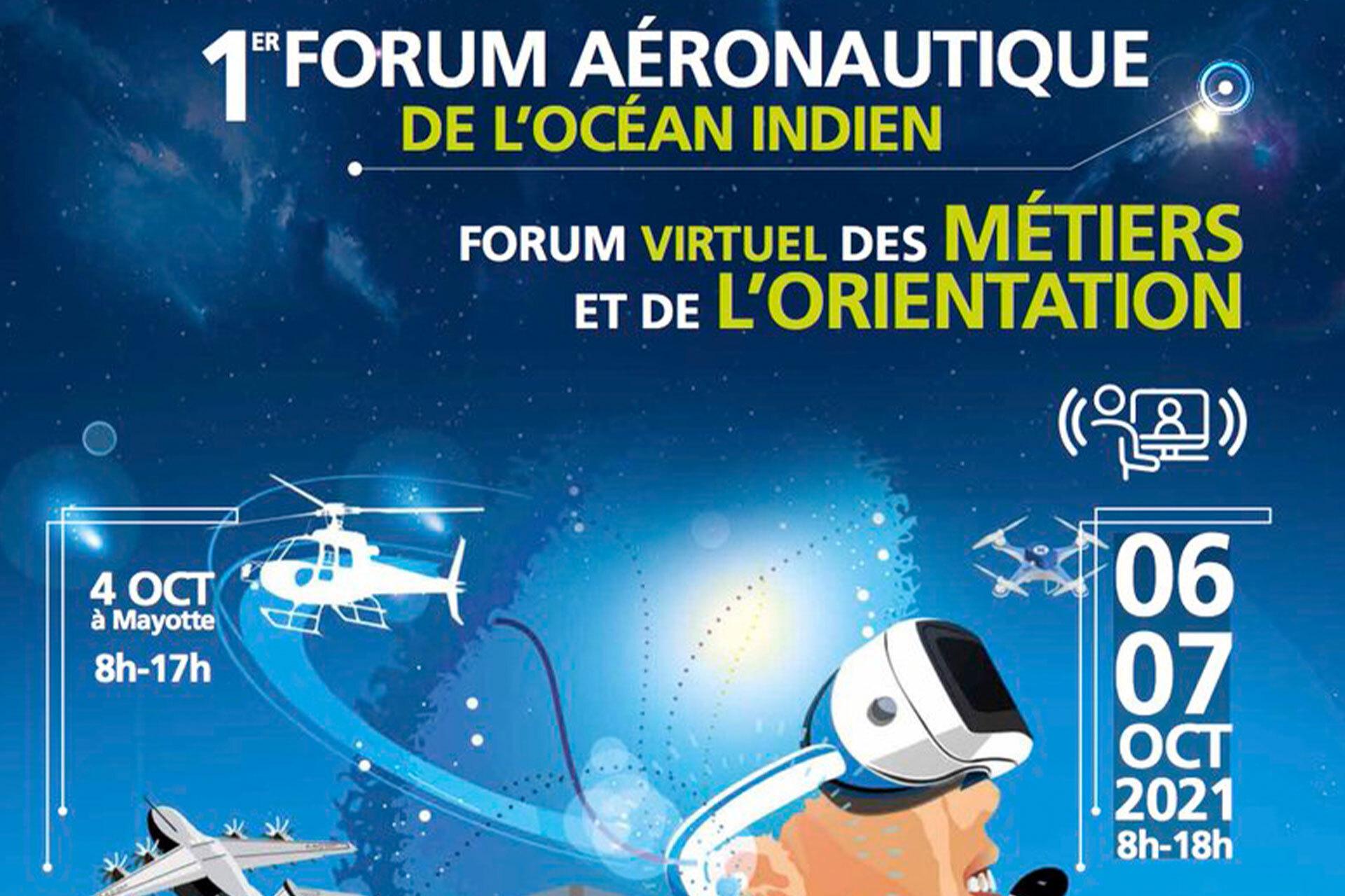 1er forum aéronautique de l'Océan Indien